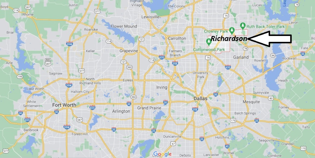 What county is Richardson TX 75081