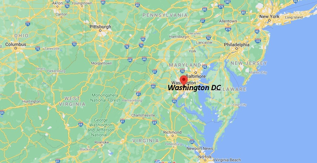 Does DC have a county