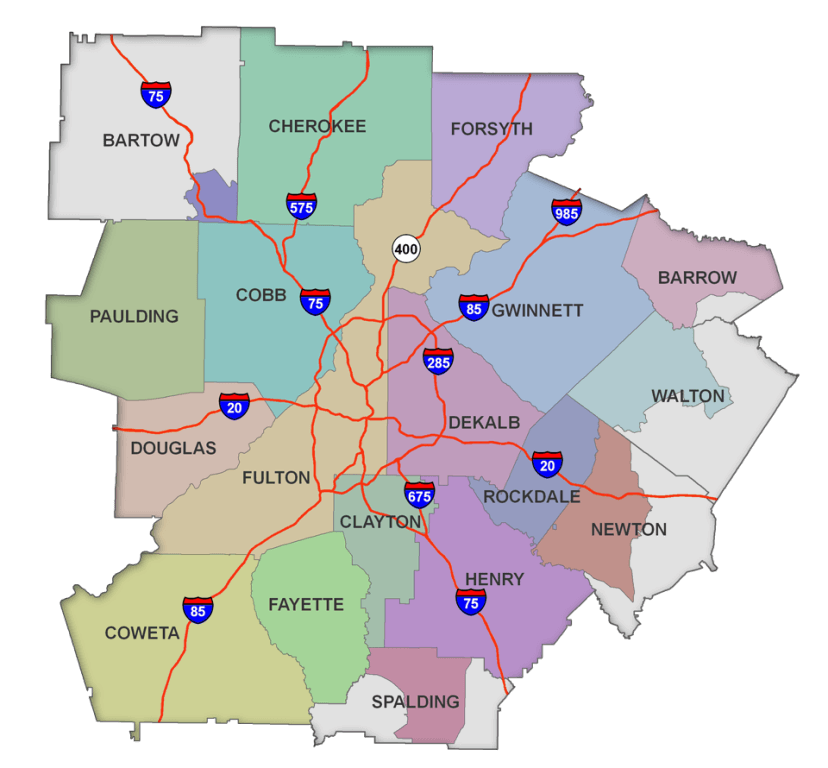 What County is Atlanta in