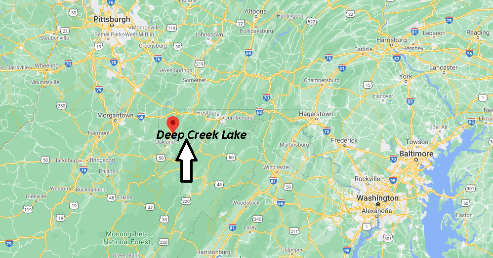 What County is Deep Creek Lake in