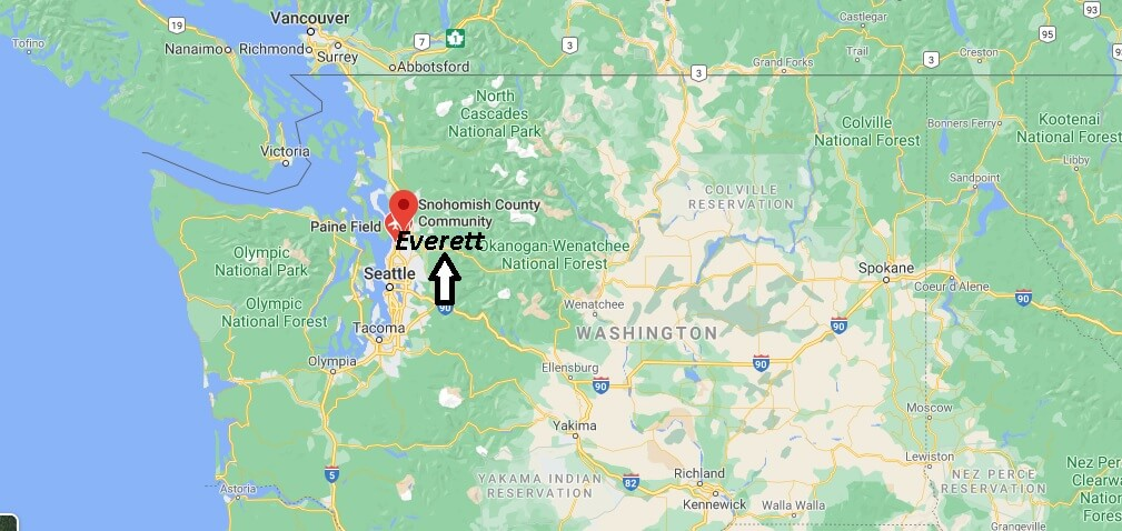What County is Everett WA in