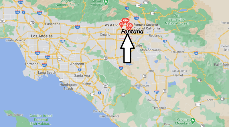 What County is Fontana CA in