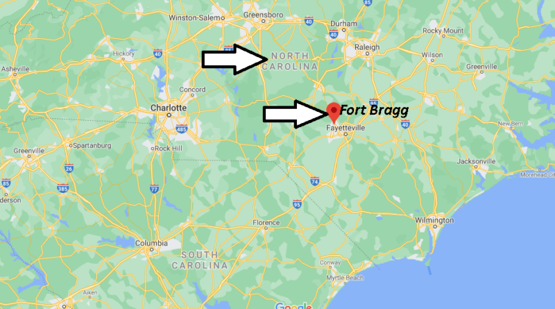 What County is Fort Bragg in