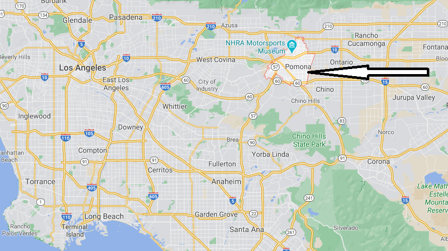 What County is Pomona CA in