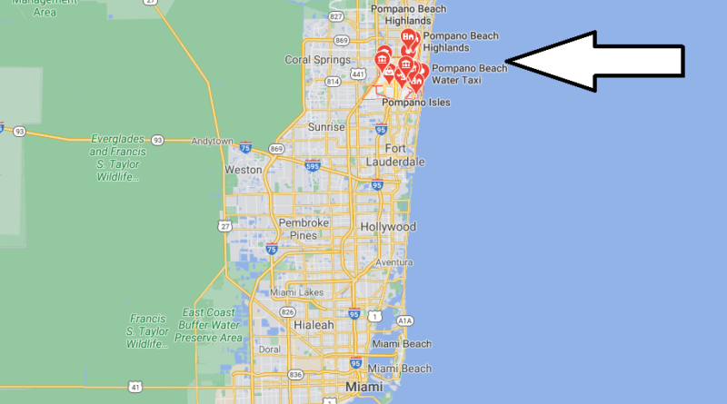 What County is Pompano Beach FL in