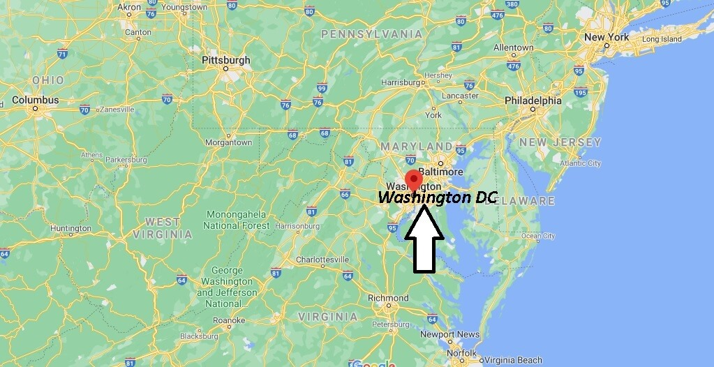 What County is Washington DC in