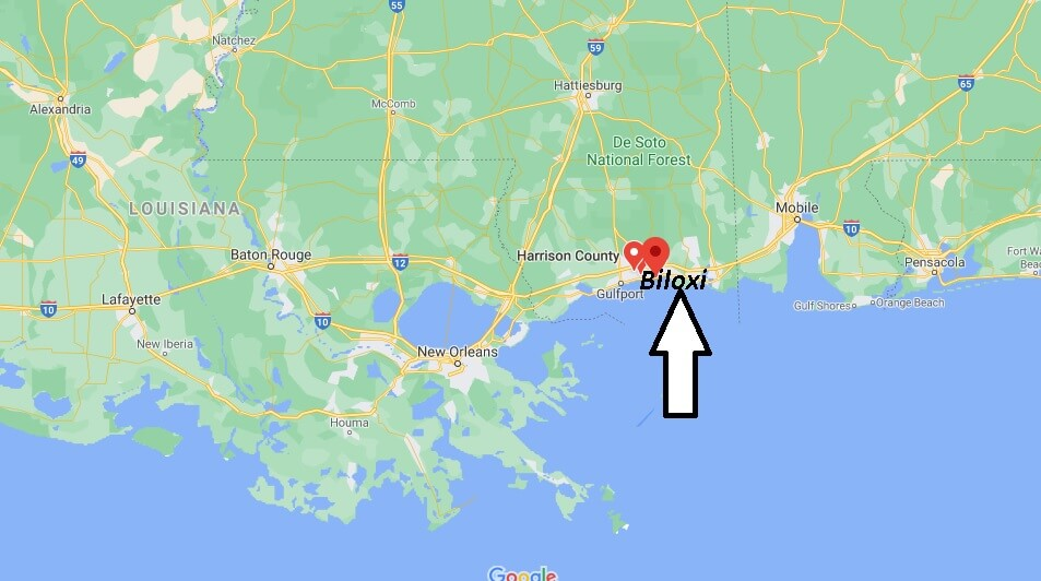 What County is Biloxi MS in