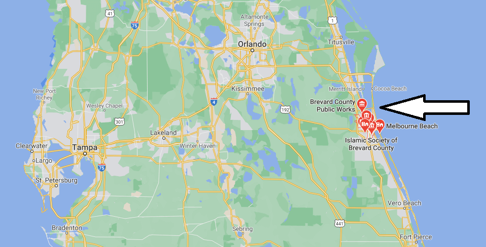 What County is Melbourne Florida in