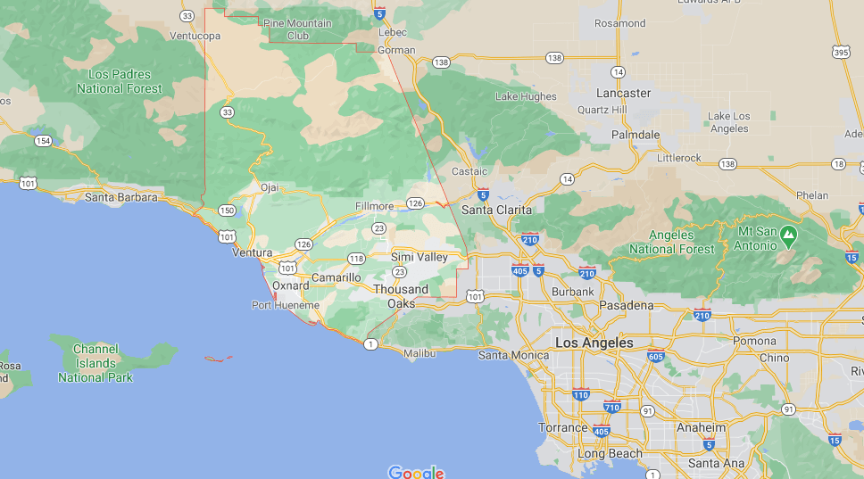 What County is Camarillo CA in
