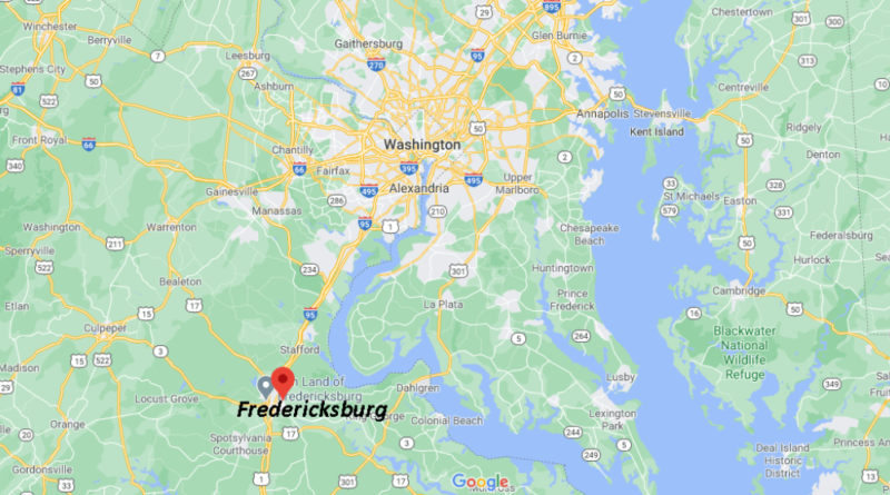 What County is Fredericksburg VA in