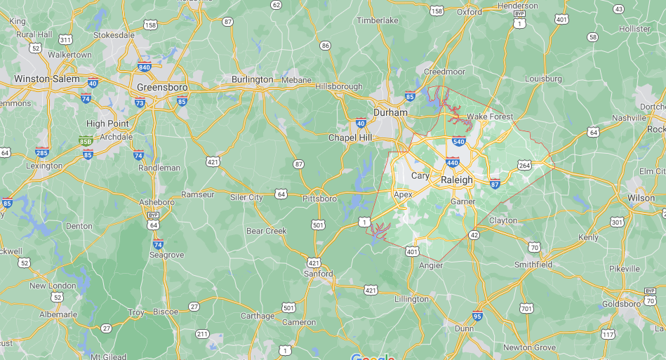 What County is Holly Springs NC in