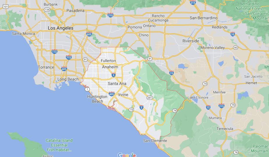 What County is Irvine CA in