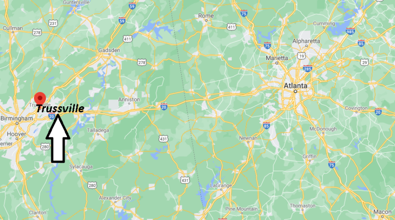 What County is Trussville AL in
