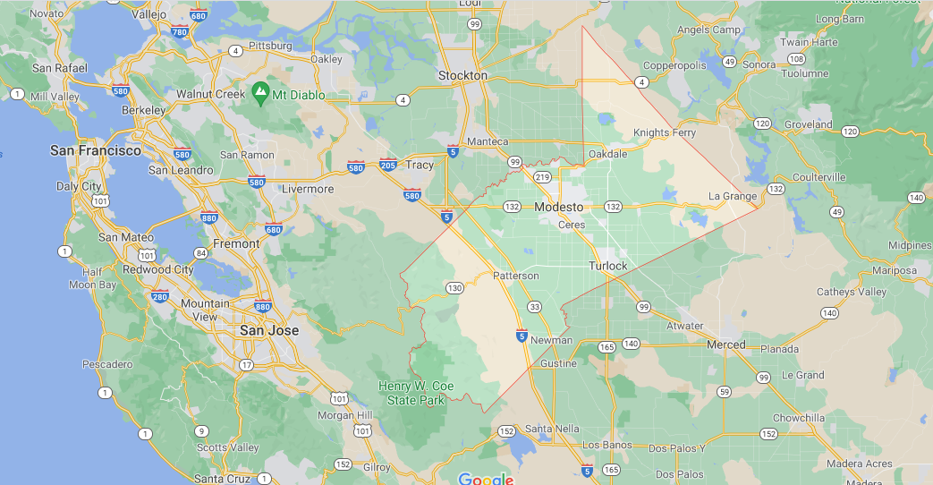 What County is Modesto CA in