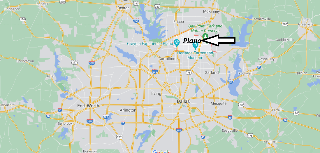 What County is Plano TX in