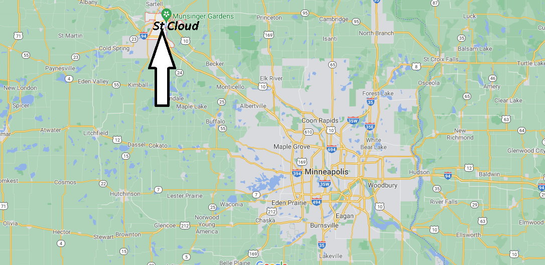 What County is St Cloud MN in
