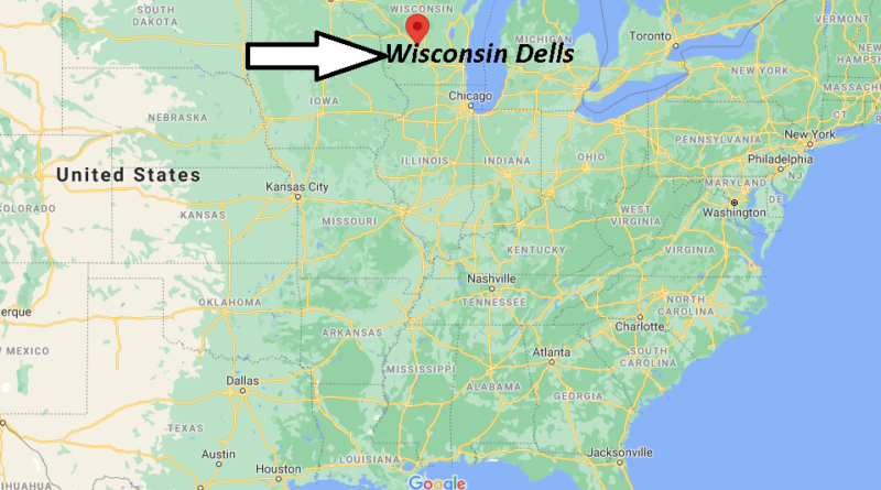 What County is Wisconsin Dells in