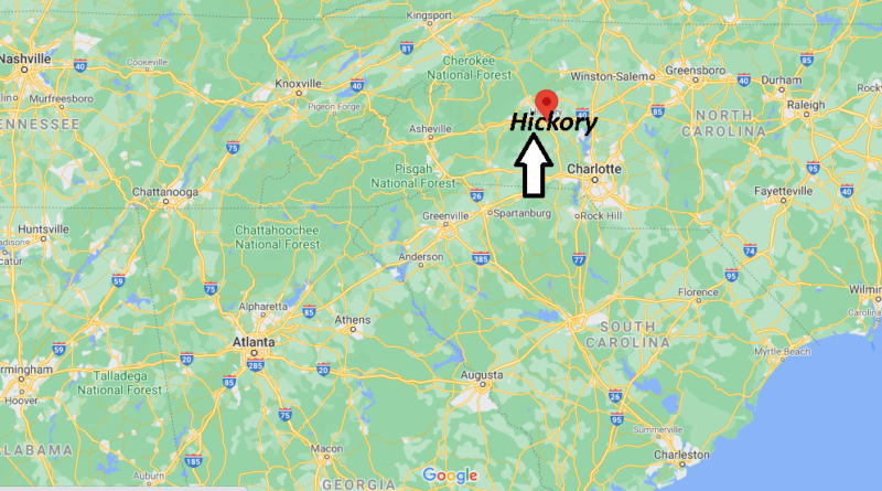 What County is Hickory NC in