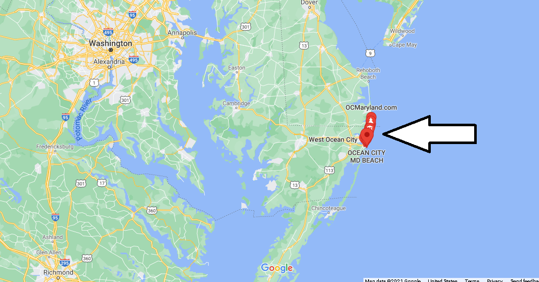 What County is Ocean City Maryland in