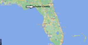 What towns are in Taylor County Florida
