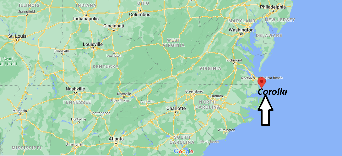 What County is Corolla NC in