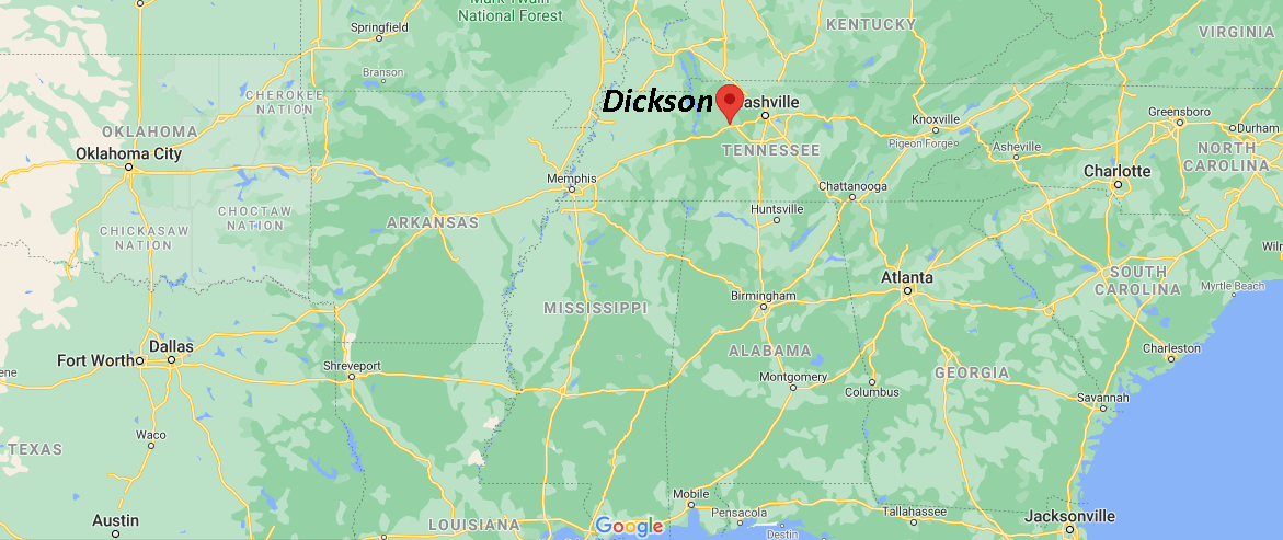 What County is Dickson TN in