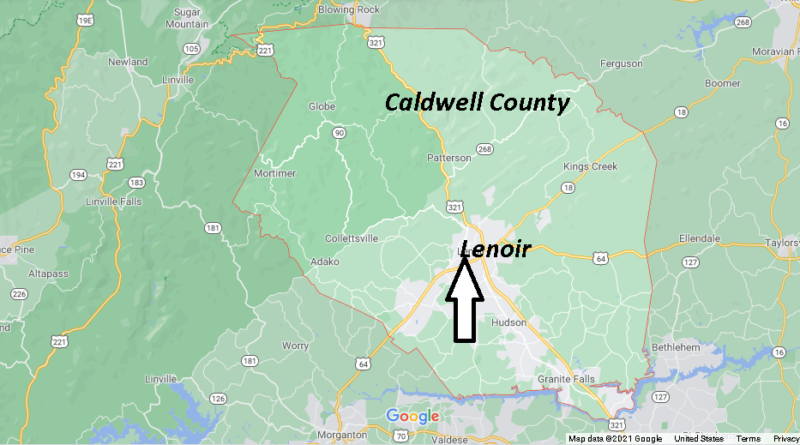 What County is Lenoir NC in