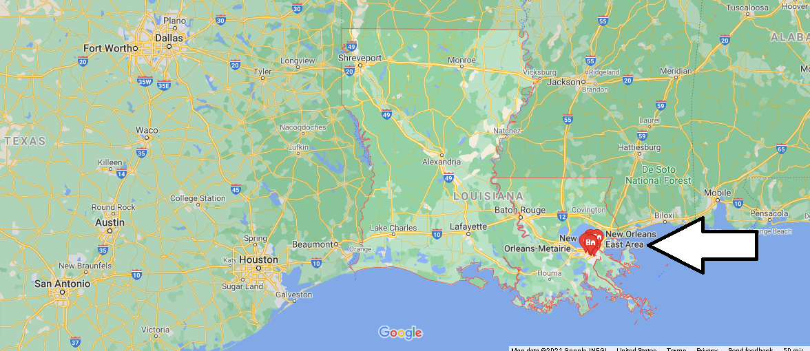 What County is New Orleans Louisiana