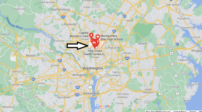 What County is Silver Spring MD in
