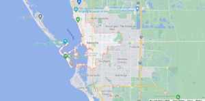 What cities are included in Sarasota County Florida