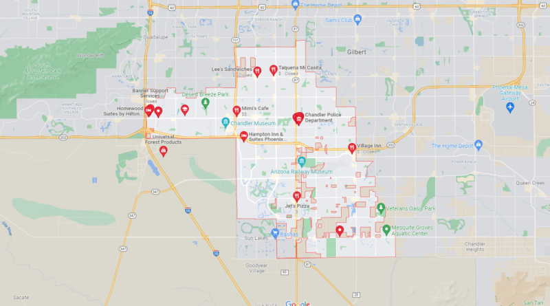 What County is Chandler AZ in