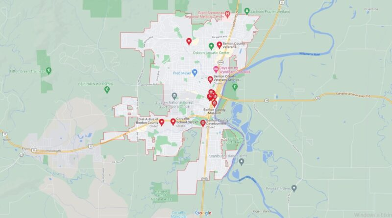 What County is Corvallis Oregon in