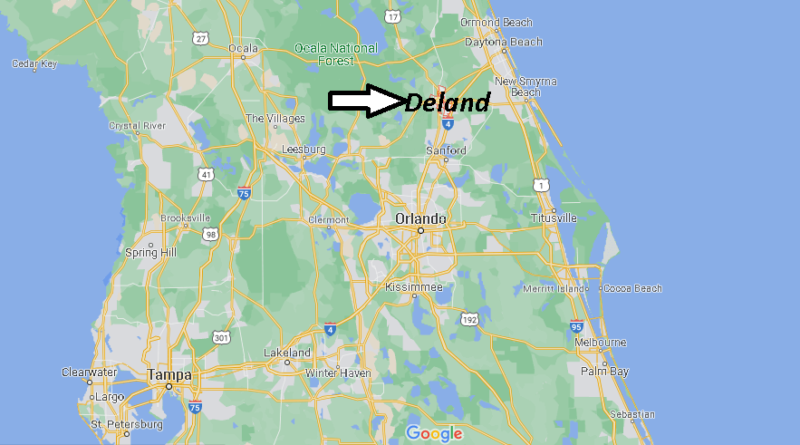 What County is Deland Florida in
