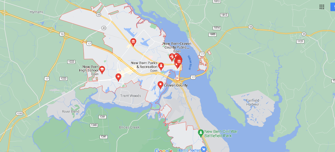 What County is New Bern NC in
