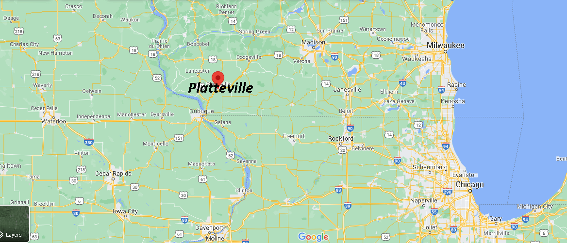 What County is Platteville WI in
