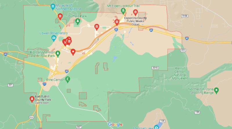 What County is Flagstaff AZ in