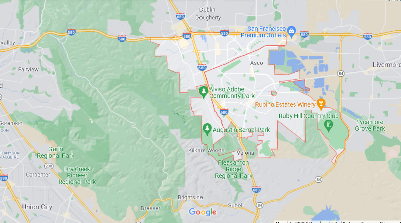 What County is Pleasanton CA in